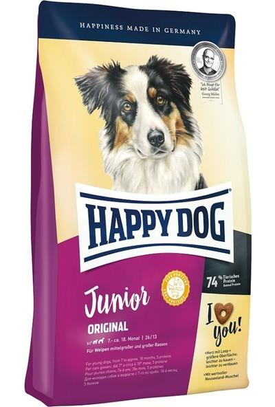 Happy Dog Junioryavru Köpek Maması 4 kg 3'lü Set Idili