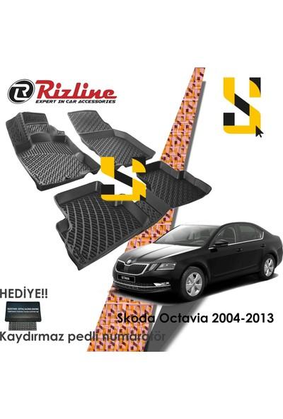 Rizline Us Rizline Skoda Octavia 2004- 2013 3D Havuzlu Paspas