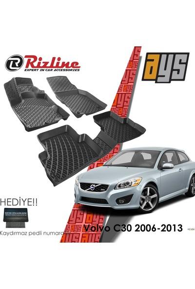 Rizline Us Rizline Volvo C30 2006- 2013 3D Havuzlu Paspas