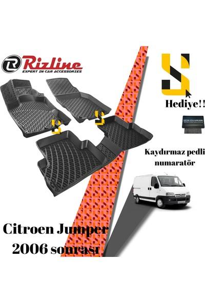 Rizline Us Rizline Citroen Jumper 2006 Sonrası 3D Havuzlu Paspas