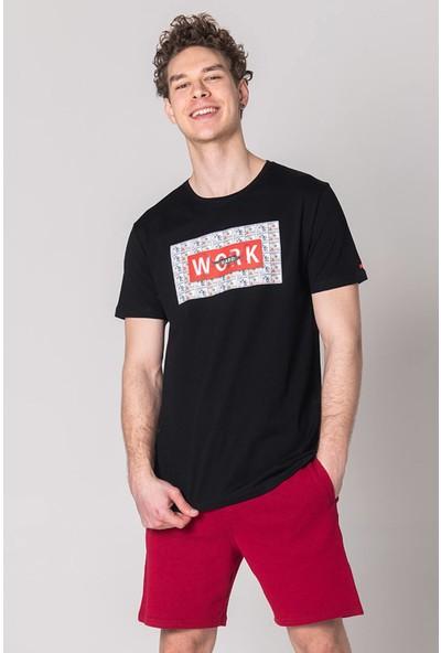 John Frank Baskılı Cool Erkek T-Shirt