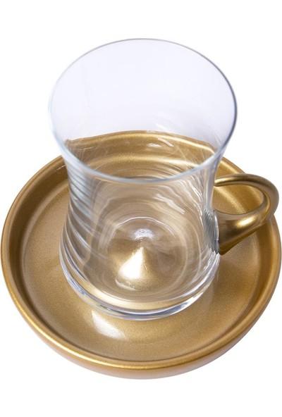 Koleksiyon İstanbul Tiryaki 12 Parça Çay Seti