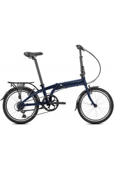 Tern Lınk A7 Katlanır Bisiklet Koyu Mavi-Mavi