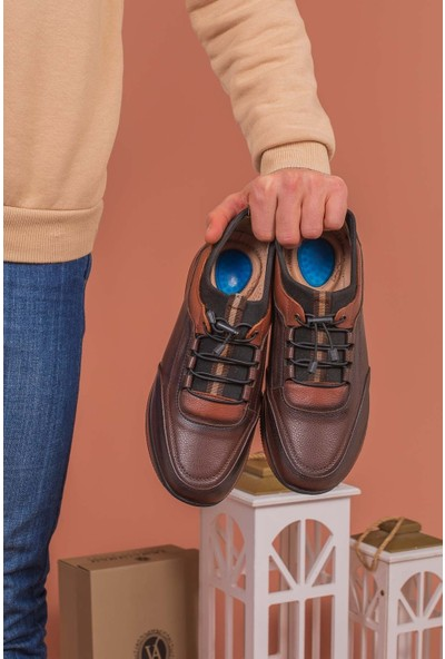 Yağlıoğlu Kunduraerkek Hakiki Deri Rahat Günlük Ayakkabı