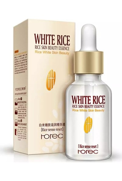 Rorec Beyaz Pirinç Serumu Sıvı Özü Anti-Aging Kırışıklık Giderici