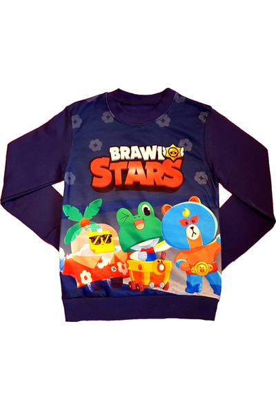 Brawl Stars Çocuk Sweatshirt
