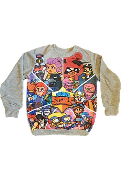 Brawl Stars Özel Tasarım Sweatshirt