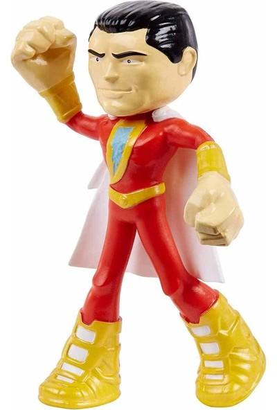 Dc Justice League Bükülebilen Figürler 10 cm GGJ04 - Shazam
