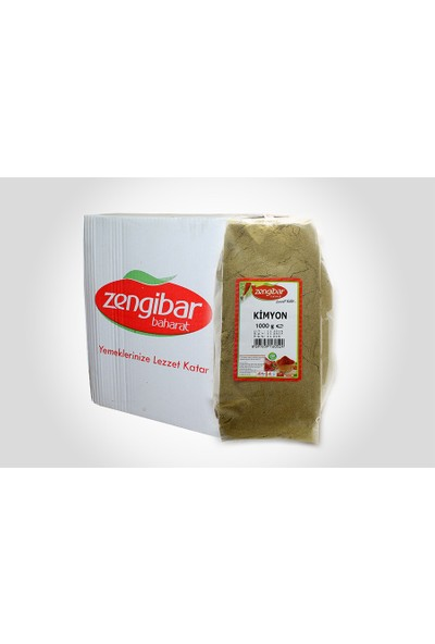 Zengibar Kimyon 1 kg