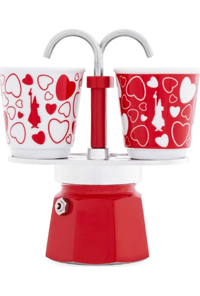 Bialetti Mini Express Set R 2 Cup Coure + 2 Cup