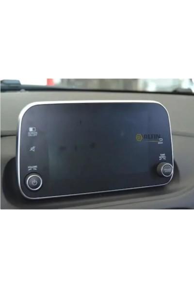 OLED Garaj Fiat Egea Cross Navigasyon Temperli Ekran Koruyucu