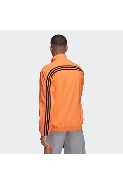 Adidas Sportswear Woven 3-Stripes Erkek Sweatshirt