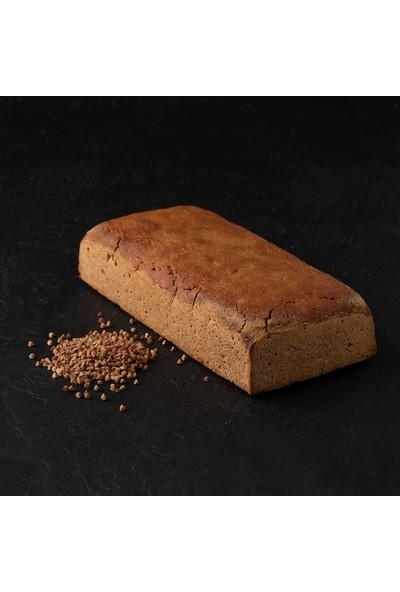 Kukumav Ekşi Mayalı Çiğ Undan Karabuğday Ekmeği 800 gr 2'li Paket Çiğ