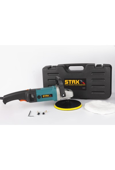Staxx Power 6 Kademeli Devir Ayarlı Polisaj Makinası 3500 W Pasta Cila Polisaj Mak + Koltuk Fırçası