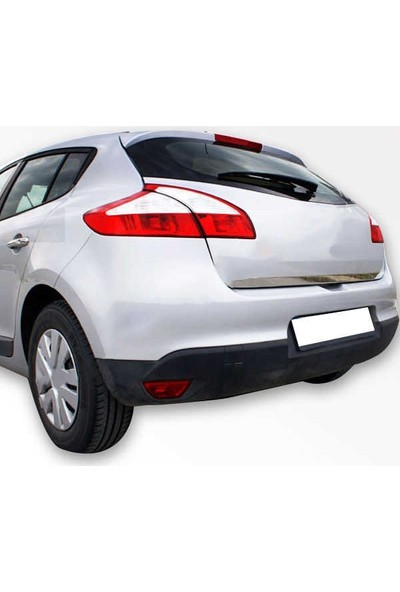 KromGaraj Renault Megane 3 Krom Bagaj Alt Çıta Çelik Şerit
