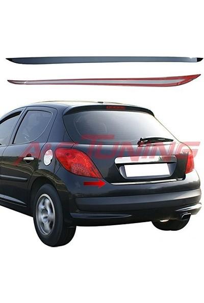 KromGaraj Peugeot 207 Krom Bagaj Alt Çıta 2006 Üzeri Çelik Şerit