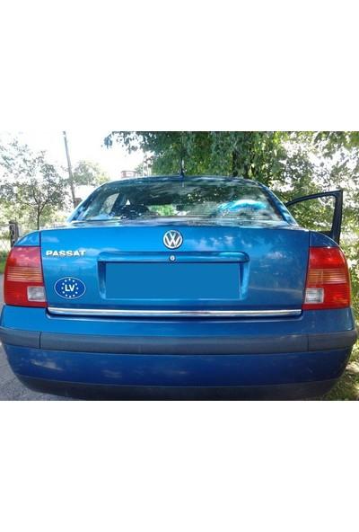 KromGaraj Volkswagen Passat 1996-2000 Krom Bagaj Alt Çıtası Çelik Bayrak