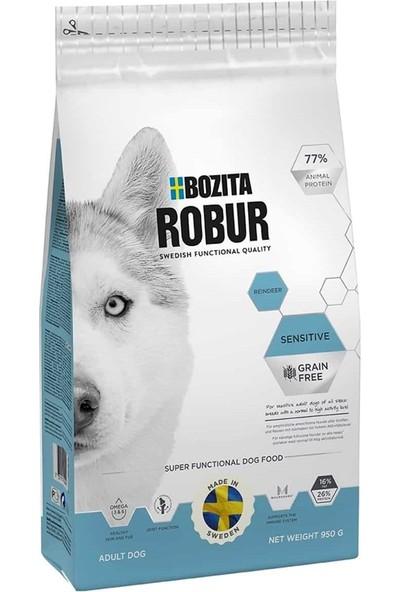 Bozita Robur Sensitive Tahılsız Geyik Etli Köpek Maması 3 kg Idili