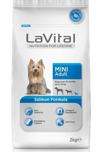 La Vital Somonlu Mini Yetişkin Köpek Maması 2 kg 2'li Set Idili