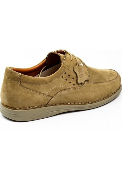 Polaris 102384 Beş Nokta Vizon Nubuk Deri Erkek Günlük Ayakkabı