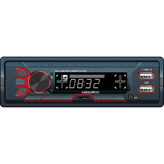 Megavox MGX-480 4X60 USB Bluetooth Micro Sd Oto Teyp 2021 Yeni Seri