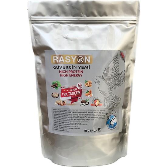 Rasyon High Energy Güvercin Granür Yemi - 850 gr