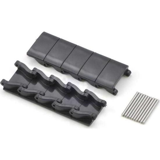 Pololu Minyatür Tank Paleti Parçaları ve Pimleri - Siyah (10'lu Paket)