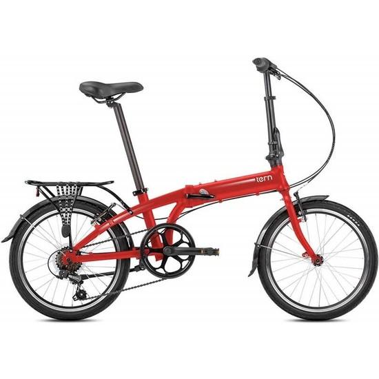 Tern Lınk A7 Katlanır Bisiklet Kırmızı