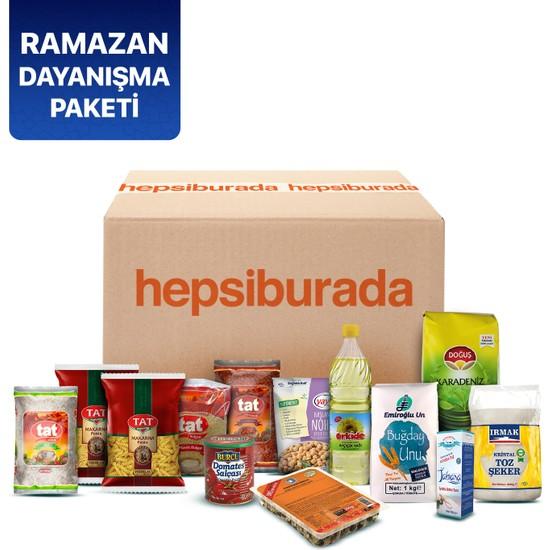Ramazan Dayanışma Paketi (Valilikçe Belirlenen İhtiyaç Sahiplerine Teslim Edilir)
