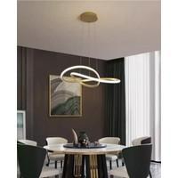 Burenze Luxury Modern Sarkıt LED Avize Gold Sarı BURENZE837