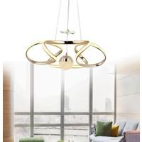 Burenze Modern Sarkıt LED Avize Gold Sarı Kademeli 3 Renk BURENZE854
