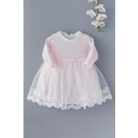 Babymod Kız Bebek Elbise Tül Etekli Bebek Elbise