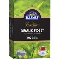 Karali Premium Demlik Poşet Siyah Çay 100'lü