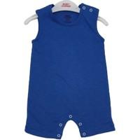 Baby Corner Erkek Bebek Pamuklu Mavi Çıtçıtlı Zıbın