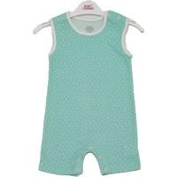 Baby Corner Erkek Bebek Pamuklu Su Yeşili Çıtçıtlı Zıbın