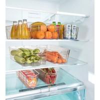 Fatess 6 lı Buzdolabı Düzenleyici Şeffaf Sepet