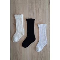 Igloo Socks Igloo File Dizaltı 3'lü Kız Çocuk-Bebek Çorabı