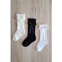 Igloo Socks Igloo File Dizaltı Fiyonklu 3'lü Kız Çocuk-Bebek Çorabı