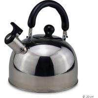 Bilmar Düdüklü Paslanmaz Çelik Demlik Tek Çaydanlık 3 lt.