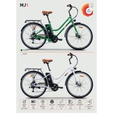 Rks Mj1 Elektrikli Bisiklet - Yeşil