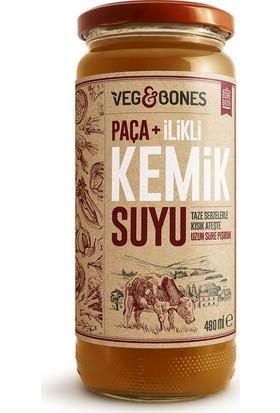 Veg&bones Paça Ilikli Kemik Suyu 480 gr