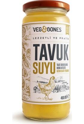 Veg&bones Tavuk Suyu Çorba 480 gr