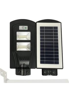 60W Güneş Enerjili Entegre LED Lamba