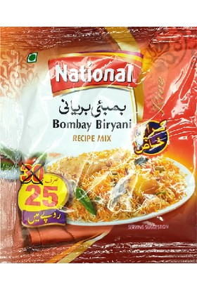 National Bombay Biryani Masala Hint Baharatı 35 gr