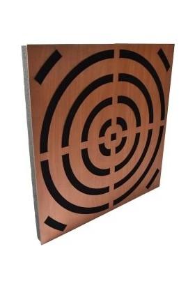 Akustik Difüzör Ses Düzenleyici Mdf+Sünger Panel 49,5CMX49,5CM Bantlı