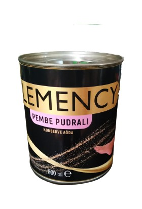 Clemency Pudralı Konserve Ağda 800 ml