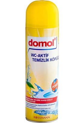 Domol Tuvalet Temizleyici Köpük Limon Özlü 500ml
