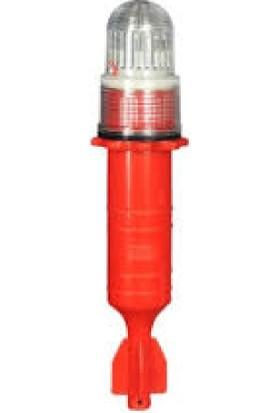 SEAFLO Ermer Torpedo Ağ Lambası Kırmızı Çakarlı
