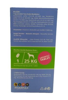Pharmax Pharmax-Canvit Chondro Super Kas ve Iskelet Sağlığı Köpek Vitamini - 230 gr Skt: 2023