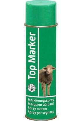 Top Marker Koyun Işaretleme Spreyi Üst Işaretleyici Yeşil